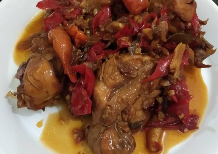 105. Ayam Kecap Khas Sunda