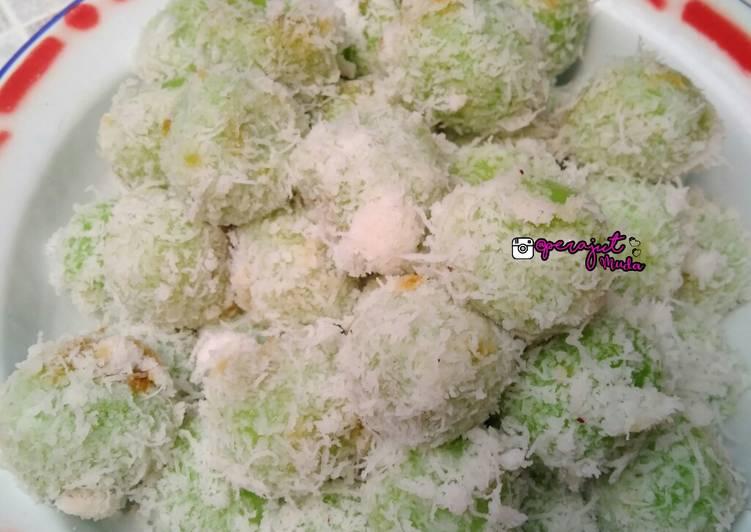 Resep Kue Klepon Ijo - cookandrecipe.com