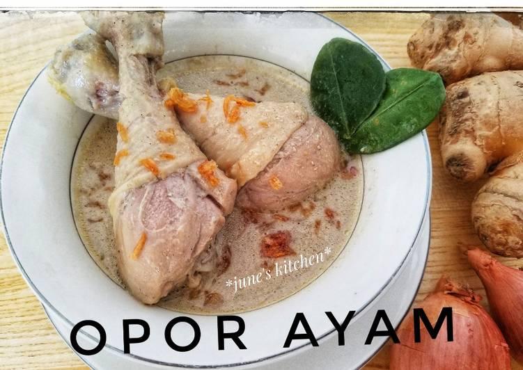 Opor AyamSiJune