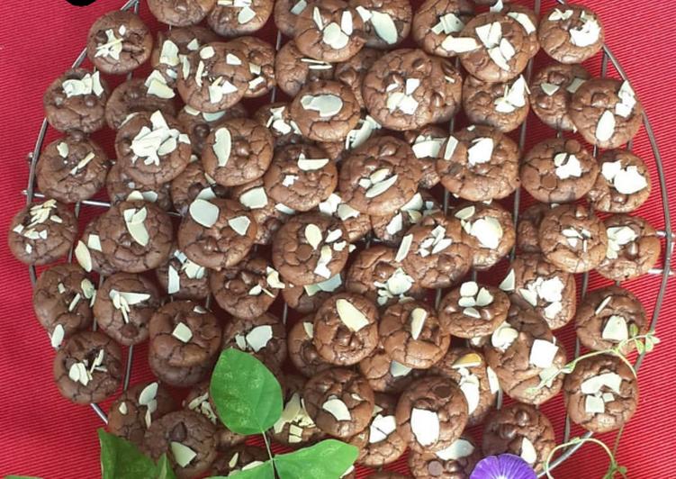 (43)Crunchy Brownkies (Brownies Cookies)