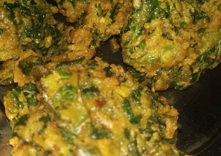 Absolutely Ultimate Dinner Easy Spring Spinach pakoda