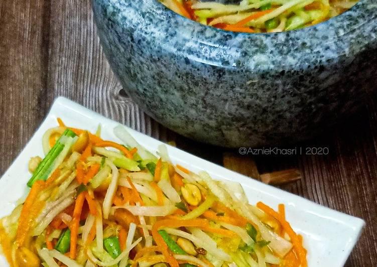 Salad Betik Pedas Thai (Som Tam)