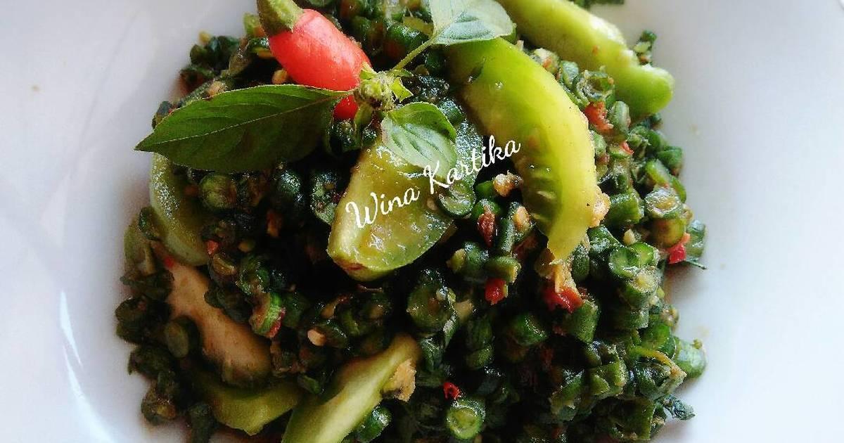 Resep Karedok Pencok Kacang Panjang Oleh Wina Kartika Cookpad