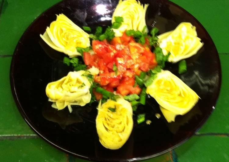 Corazones de alcachofa en vinagreta