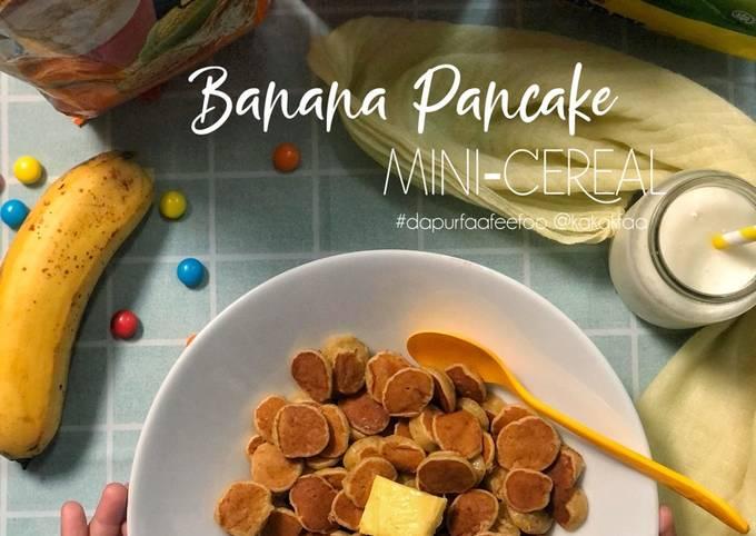 Banana Pancake Mini Cereal