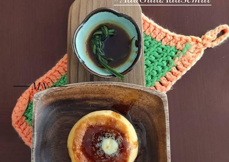 Japanese Soufflé Pancake With Palm Sugar Sauce(saus gula merah)