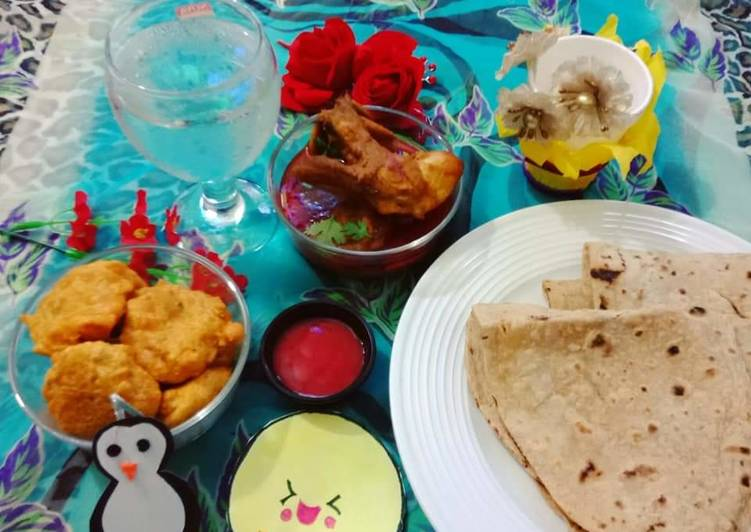 Old Fashioned Dinner Ideas Love Aloo Chap and Chicken Ka Salan With Roti
