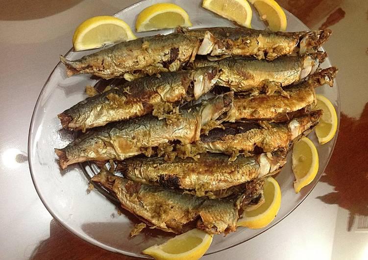 كم يستغرق قلي السمك العامة