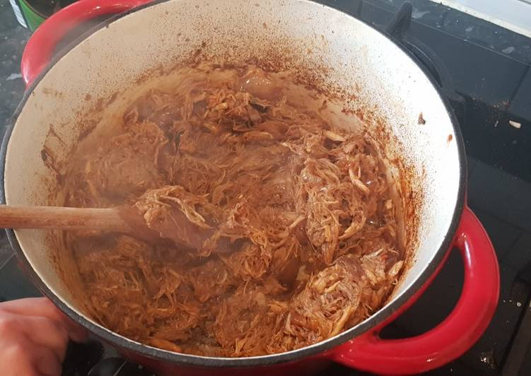 Easiest Way to Cook Delicious Slow cooked pulled pork
