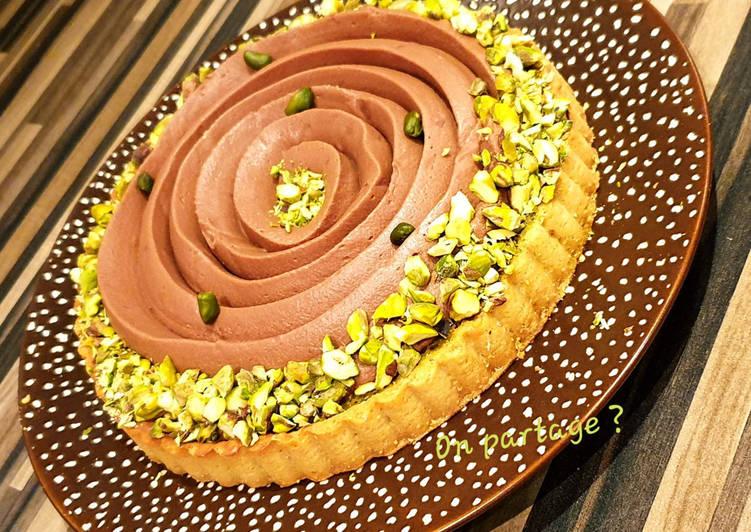 Comment Préparer Des Tarte pistache chocolat