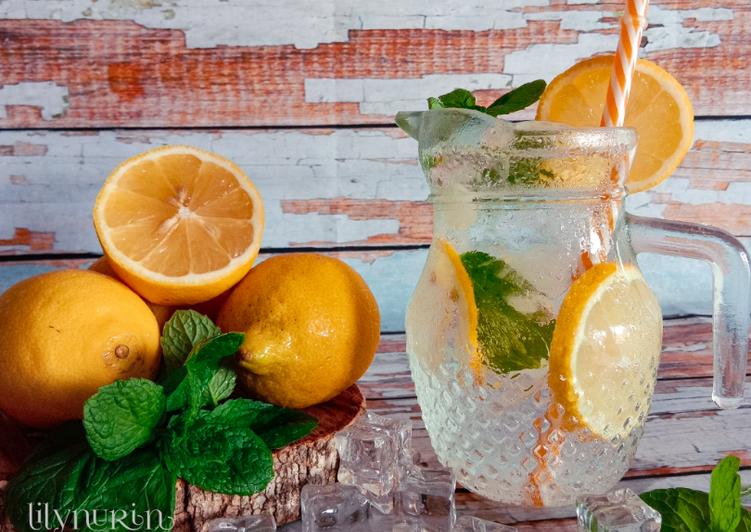 Ais soda lemon - resepipouler.com