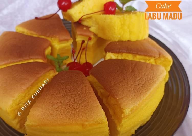Resep Chiffon Cake Labu Madu Oleh Rita Kusnadi Cookpad