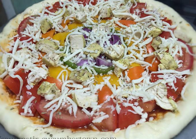 Recipe: Yummy Rainbow Pizza