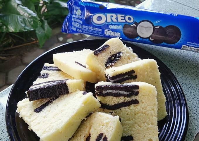 Bolu Kukus Cookies and Cream (Oreo)