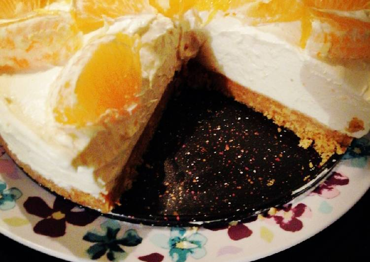 Zesty Orange cheesecake