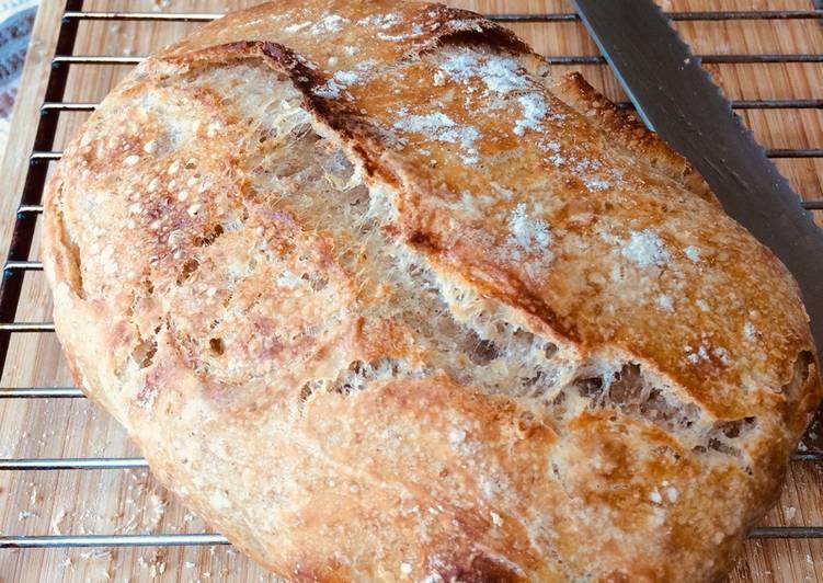 Steps to Prepare Speedy Sourdough bread levain (starter)