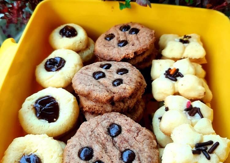 Cookies Eggless No Mixer No Oven