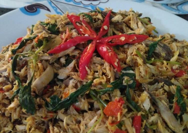 Tongkol Suir Pedas - cookandrecipe.com