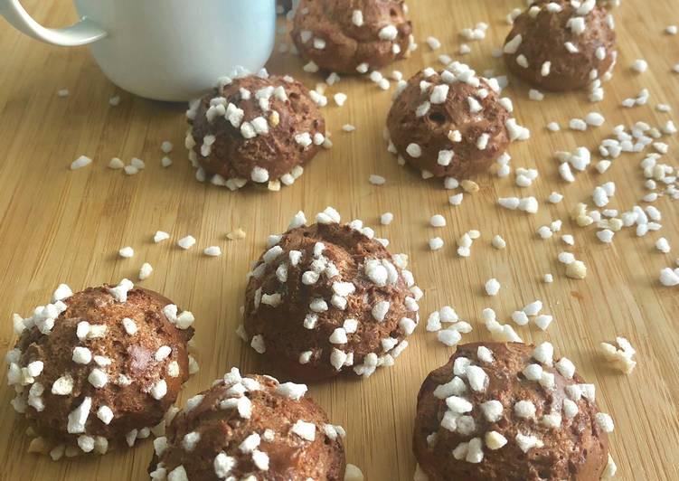 Recipe of Quick Chouquettes au chocolat