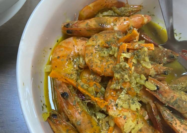 Easiest Way to Cook Yummy Honey Lemon Garlic Shrimp