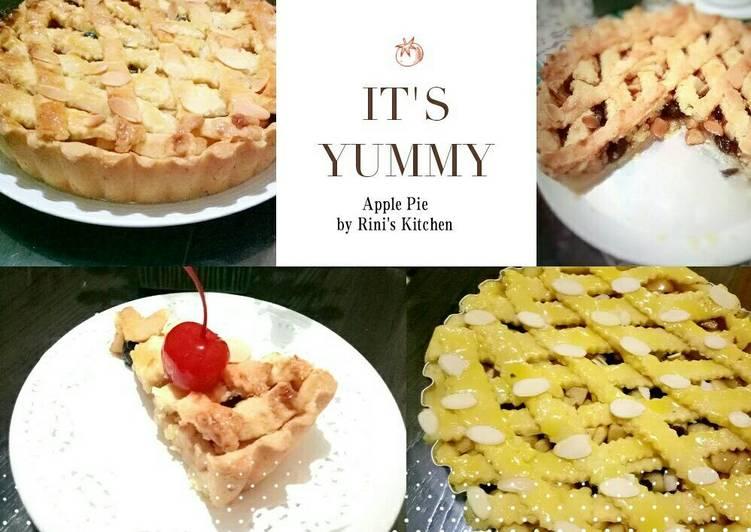 Apple Pie Versi Besar