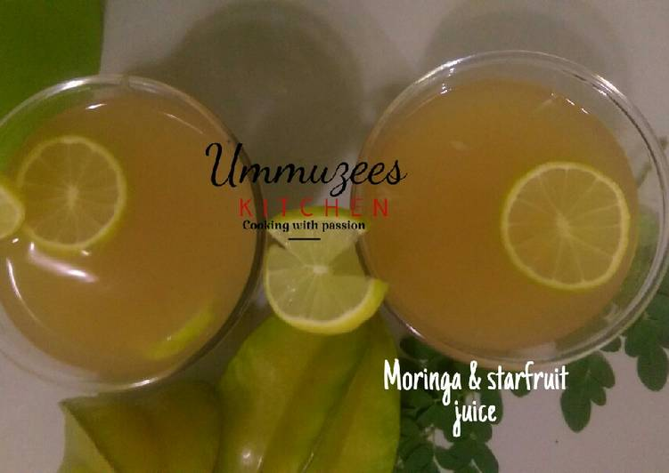Moringa And Starfruit Juice