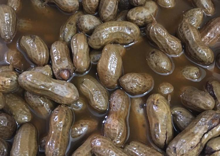 Easiest Way to Prepare Super Quick Homemade Instant pot boiled Cajun Peanuts