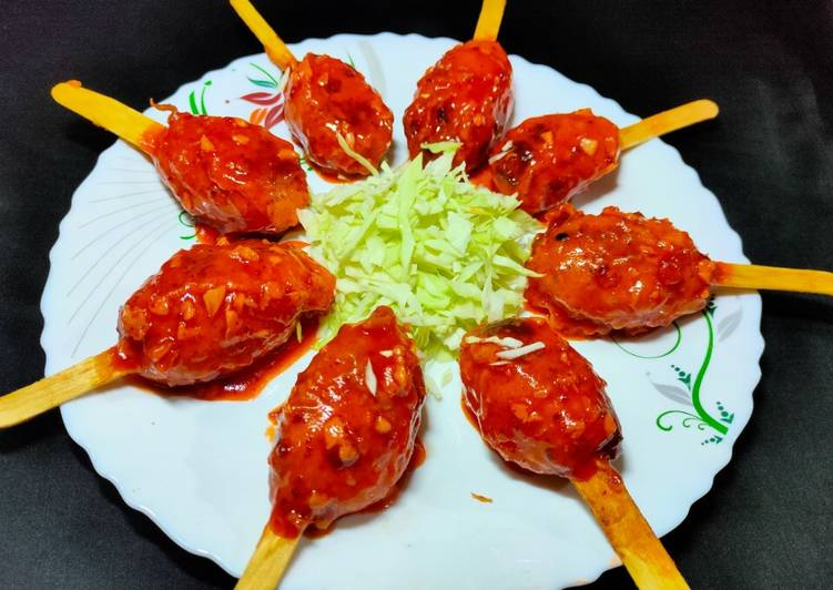 Indo Chinese Veg Lollipop