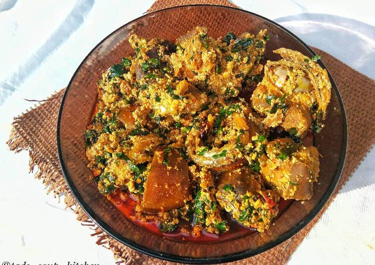 African Food Easy peasy Delicious Egusi soup