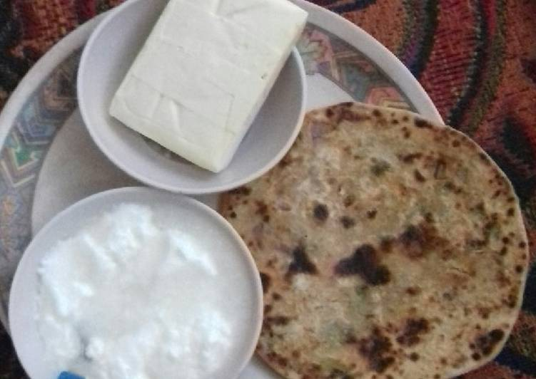 Foods That Make You Happy Mooli ka paratha