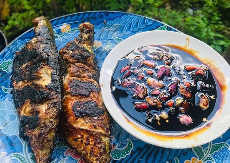 Bagaimana Menyiapkan Ikan Peda (Kembung)Bakar Sambal Kecap Bawang, Bikin Ngiler