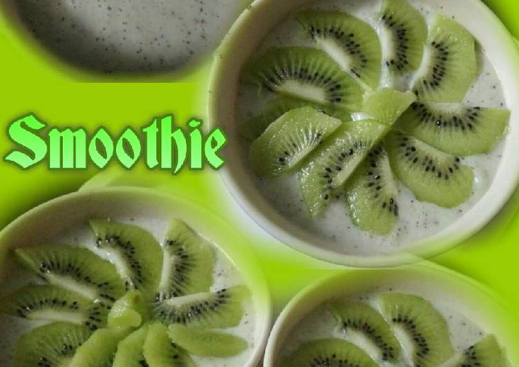 Recipe of Award-winning Kiwi smoothie