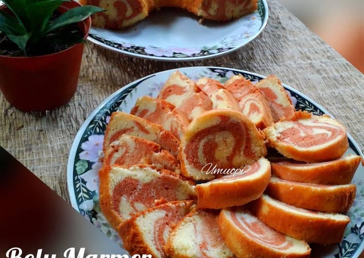 Bolu Marmer Susu Cokelat - cookandrecipe.com