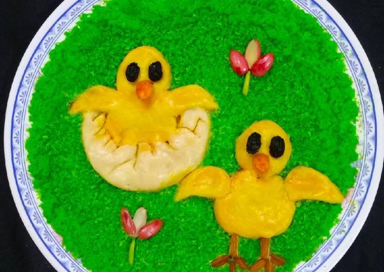 Sweet Hatching Chicks Baby emoji