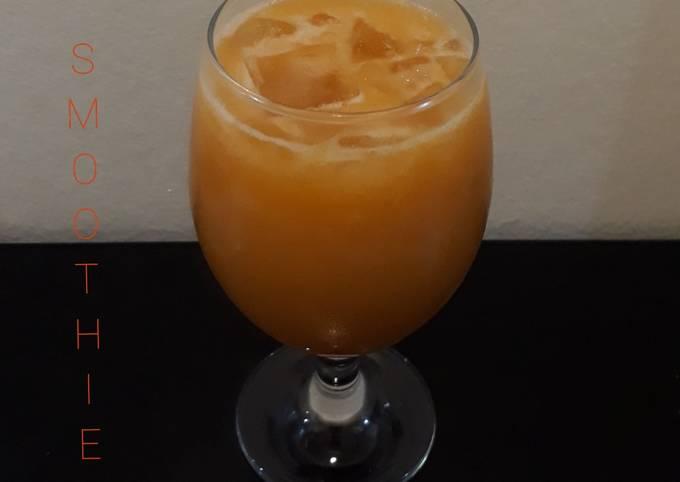 Smoothie apel wortel kurma