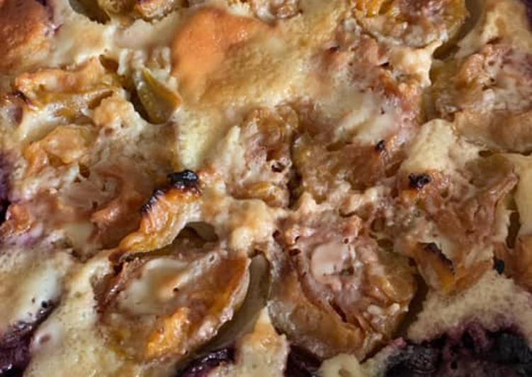 La Recette Pas à Pas Tarte aux prunes au Thermomix