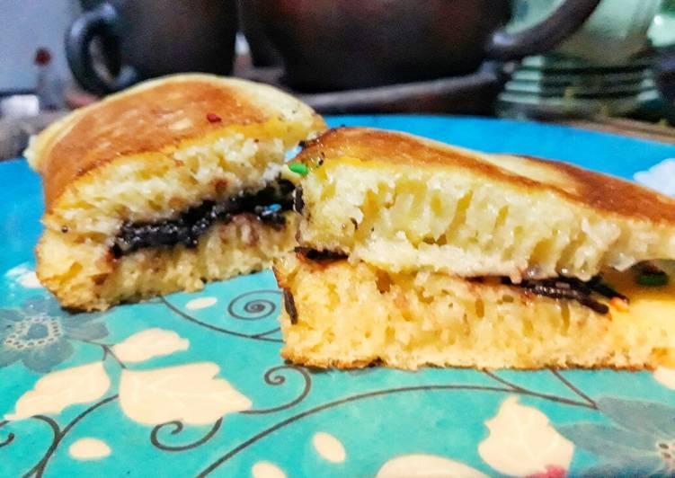 Bagaimana Membuat Martabak manis teflon moist tropicana slim yang Bisa Manjain Lidah