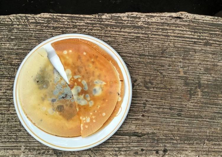 Crepe garing (Kue Lekker)