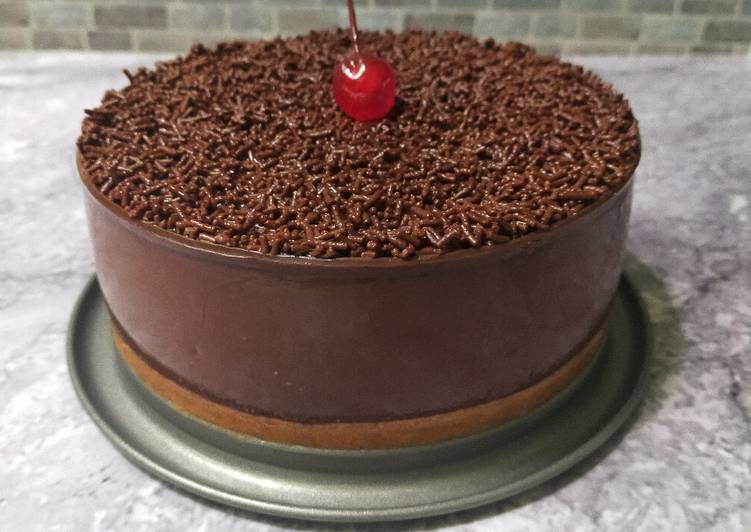 Bagaimana Membuat Puding Lumer Coklat, Sempurna