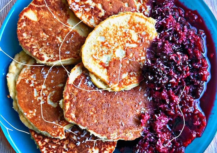 Kokosnuss-Pancakes
