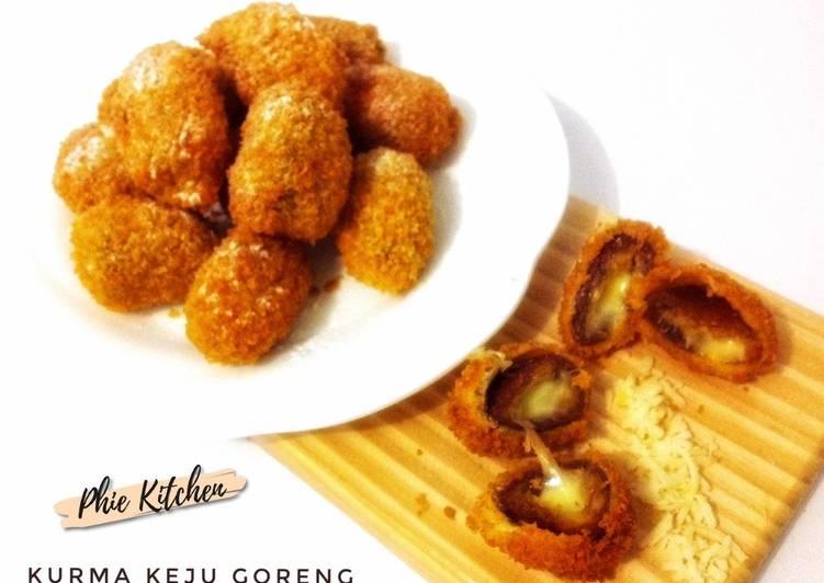 Kurma Keju Goreng - Crispy ngeju #18