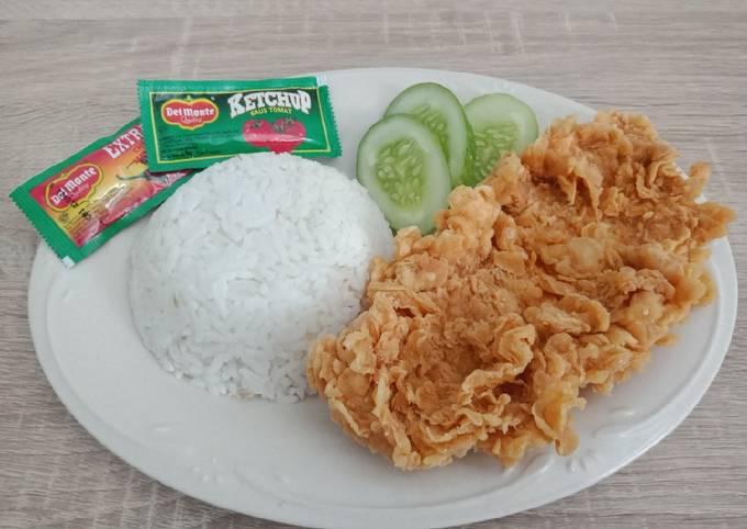 Ayam super crispy