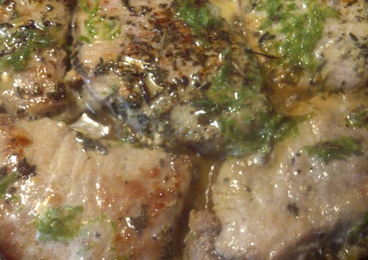 Lemon oregano Pork