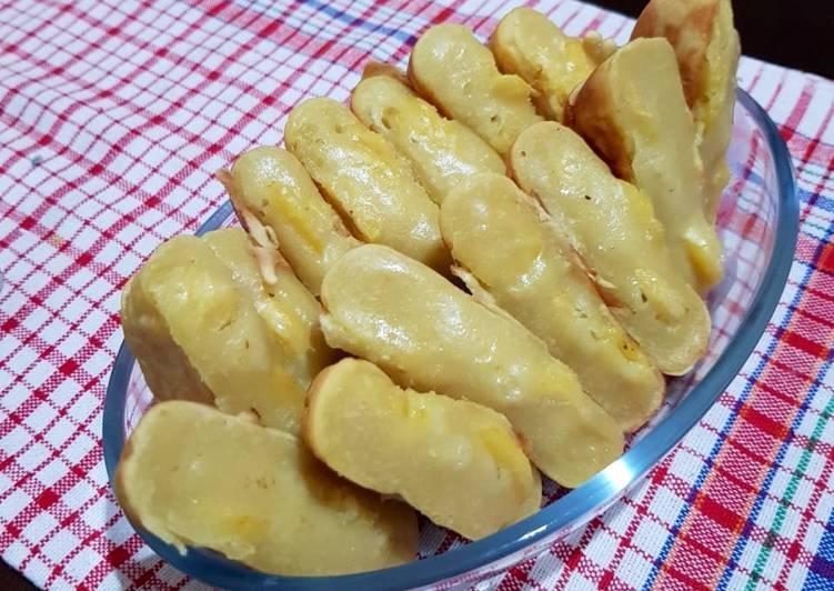 Kue Pancong Pisang Kelapa