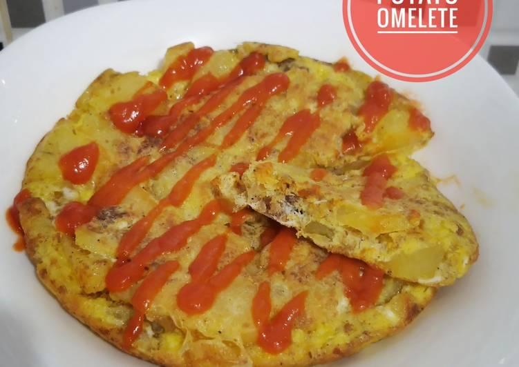 Spanish Omelette (Omlet Kentang)