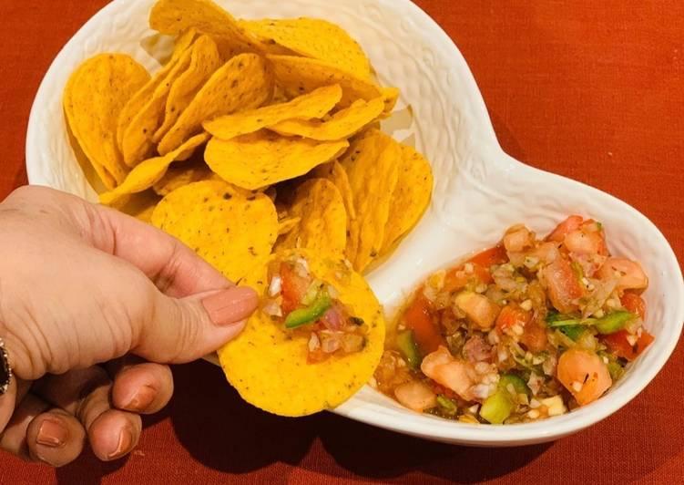 Easiest Way to Prepare Award-winning Salsa for nachos