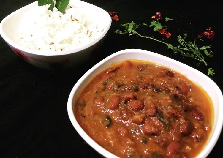 Simple Way to Prepare Any-night-of-the-week Rajma chawal