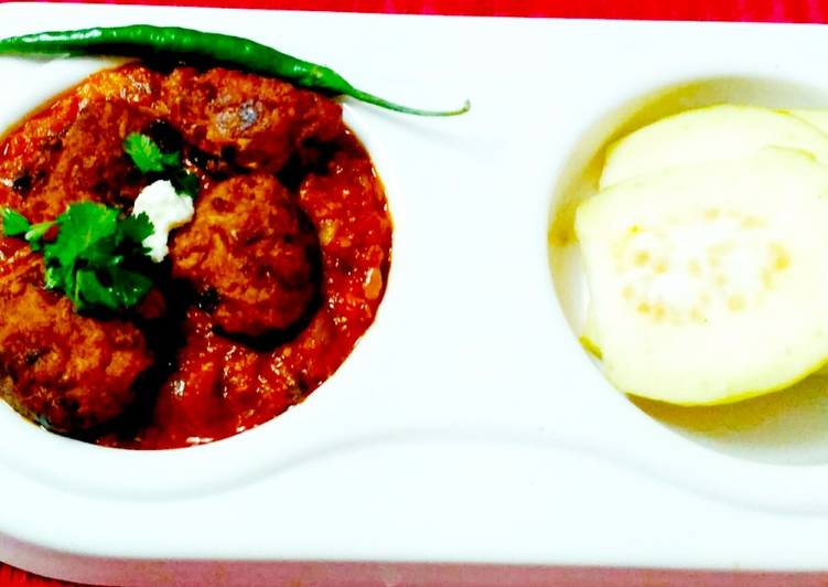 Guava Kofta Curry
