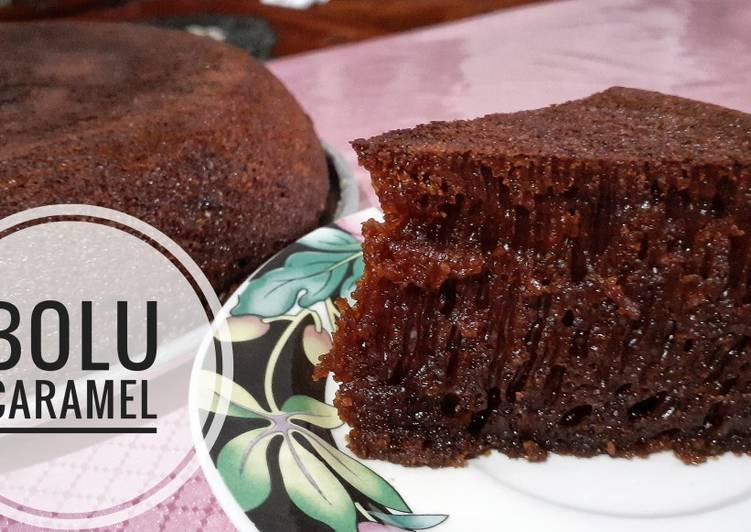 resep buat Bolu Sarang Semut | Bolu Karamel - Sajian Dapur Bunda