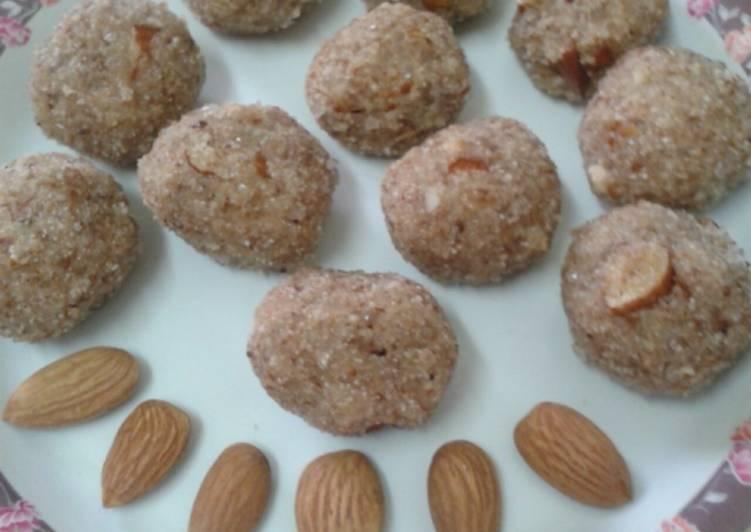 Suji coconut badam pinni - Laurie G Edwards